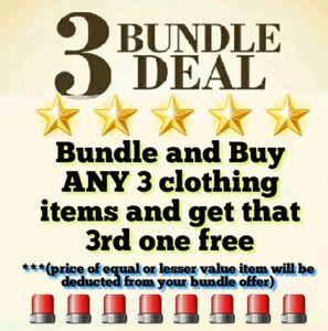 BUNDLE 3 GET 1 FREE